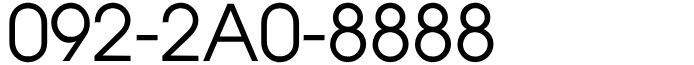 福岡県福岡市博多区中洲近郊固定電話良番:末広がり8のぞろ目!※ひかり電話092-2A0-8888