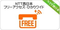NTT西日本・フリーアクセス、フリーアクセス・ひかりワイド