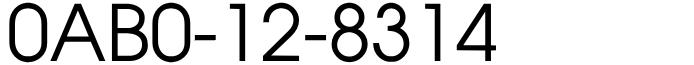 語呂合わせフリーダイヤル良番・いつも安いよ!0AB0-12-8314