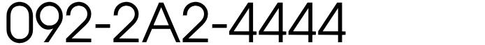 福岡県福岡市博多区:4のぞろ目!092-2A2-4444